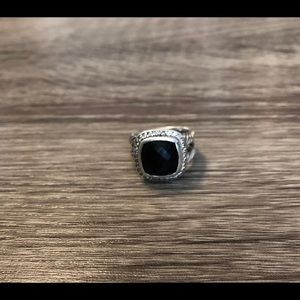 Slightly loved David Yurman Black onyx Albion Ring